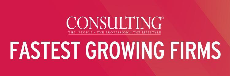 Consulting\'s Fastest Growing Firms